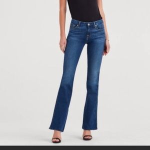7 for all mankind Kimmie Bootcut size 28